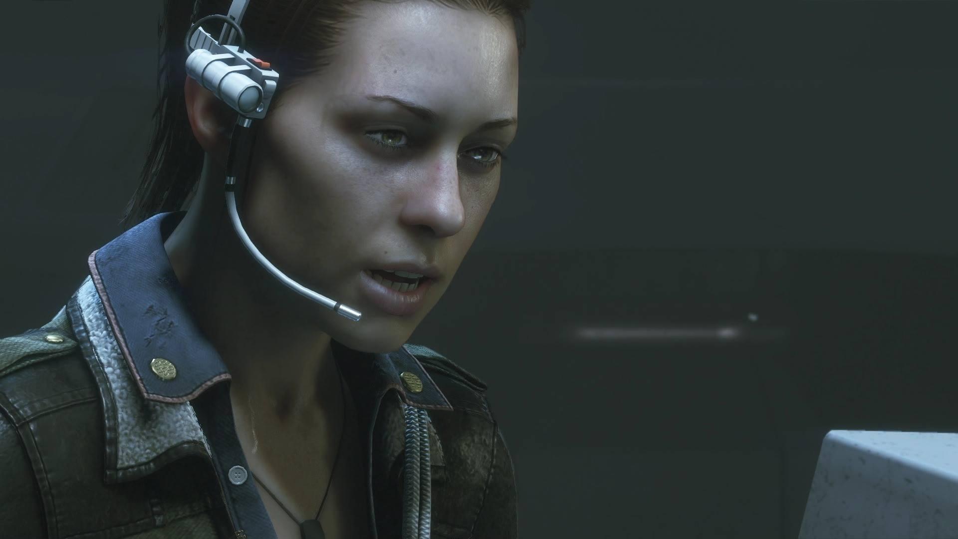 Ripley in einer der realtiv gut gemachten Cutscenes.