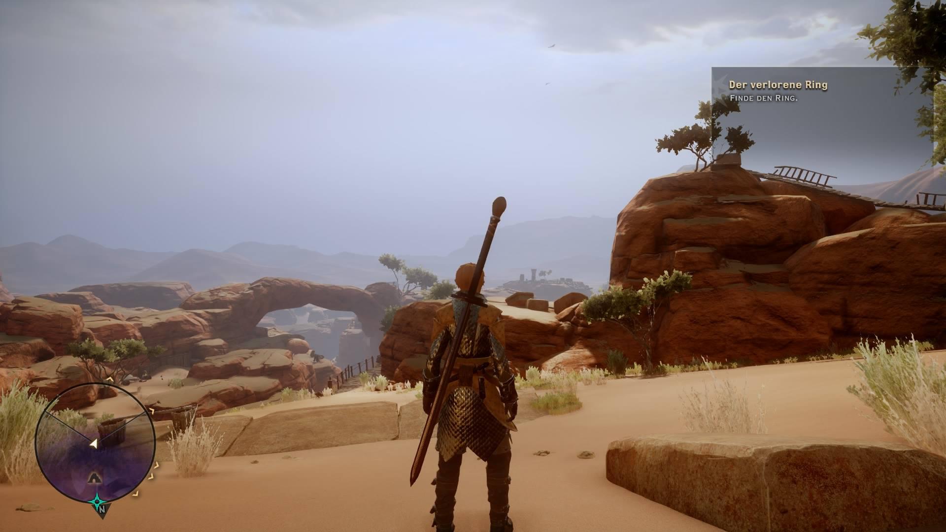 Hab gerade 15 Scherben in der Wüste gesucht. Wieder ne Stunde weg.