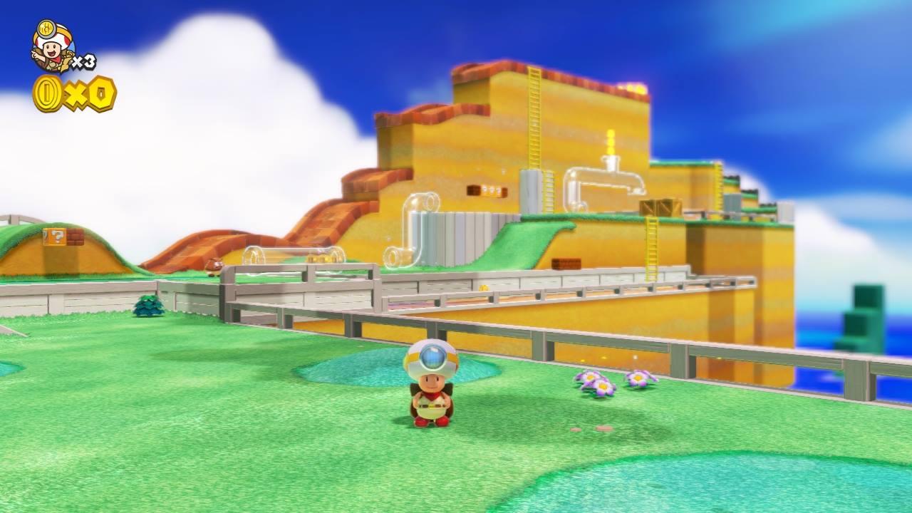 Toad in Marioland. Er kann nur nicht springen.