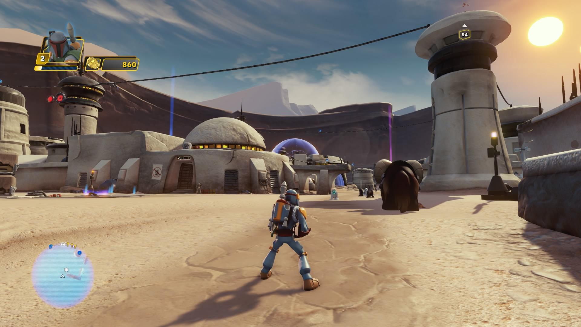 Schon cool: Playset Rise against the Empire. Zurück zum Ursprung.