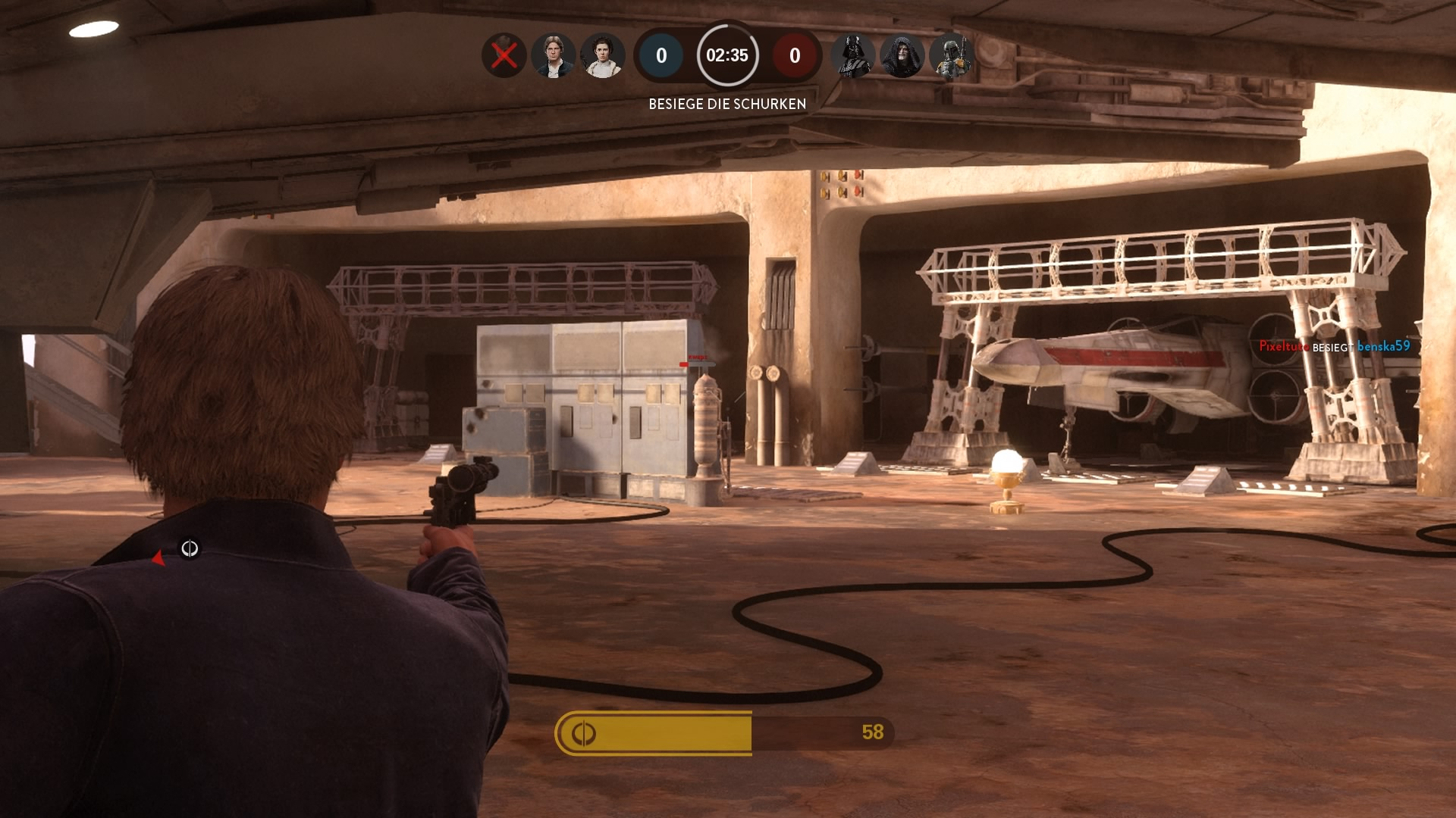 Als Han Solo unterwegs