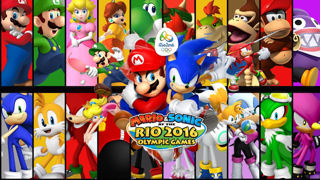 Mario und Sonic in Rio