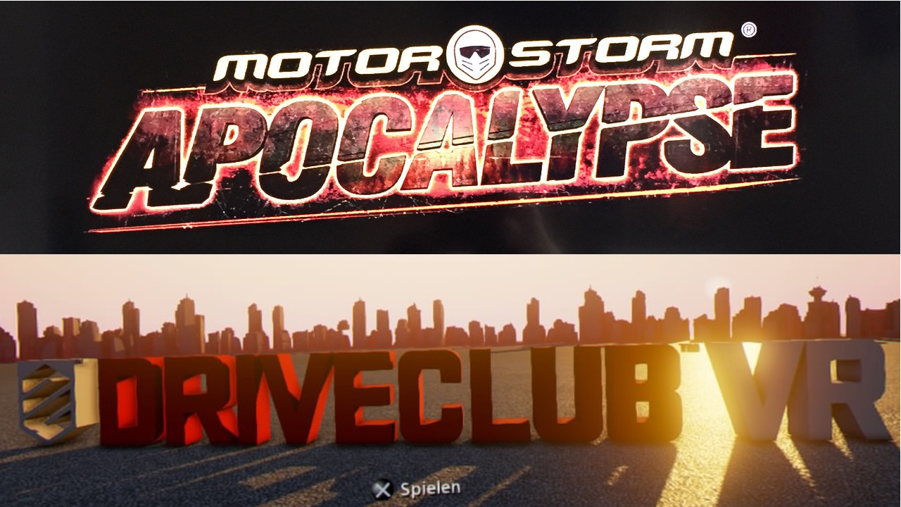MotorStorm 3: Apocalypse (3D) vs Driveclub VR