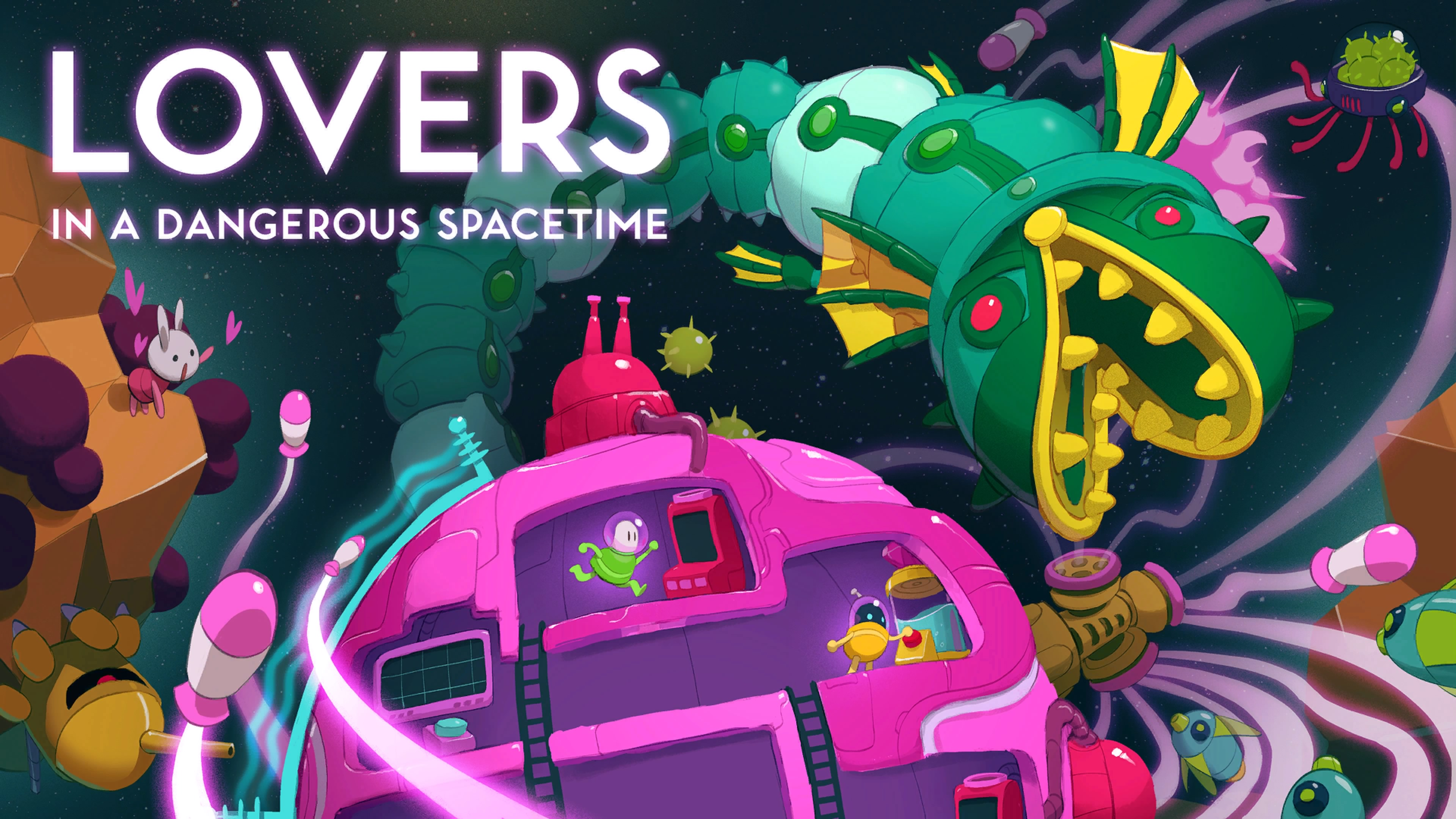 Lovers in a Dangerous Spacetime_20170407095042