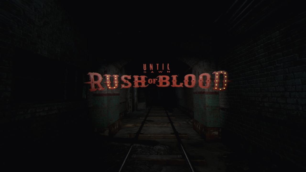 Until Dawn: Rush of Blood (VR)